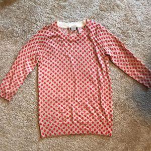 Apple j.crew sweater